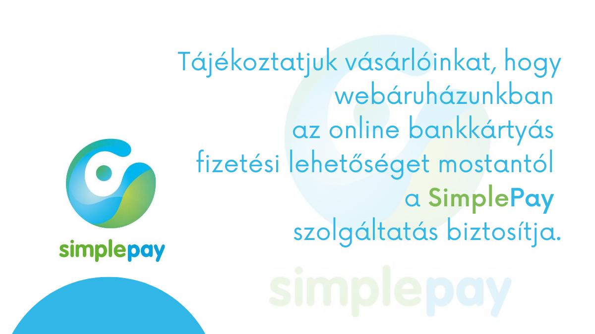 Tájékoztatás a bankkártyás fizetésről