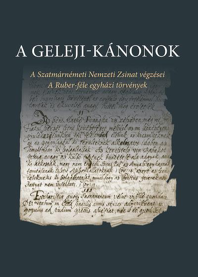 A Geleji-kánonok. Buzogány Dezső fordítása