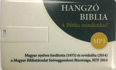 Audio Bible, new translation (RÚF 2014), MP3 on USB stick