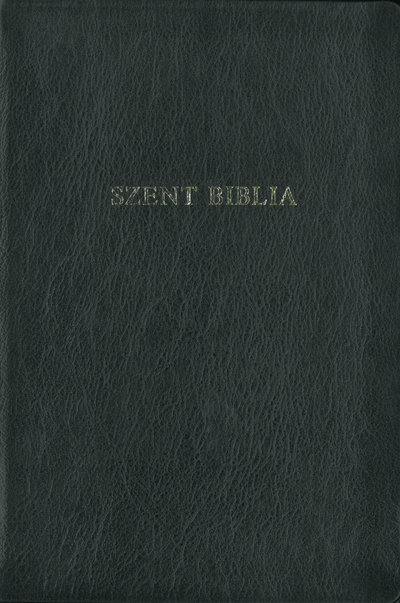 Bible (Károli), smaller family size, leather